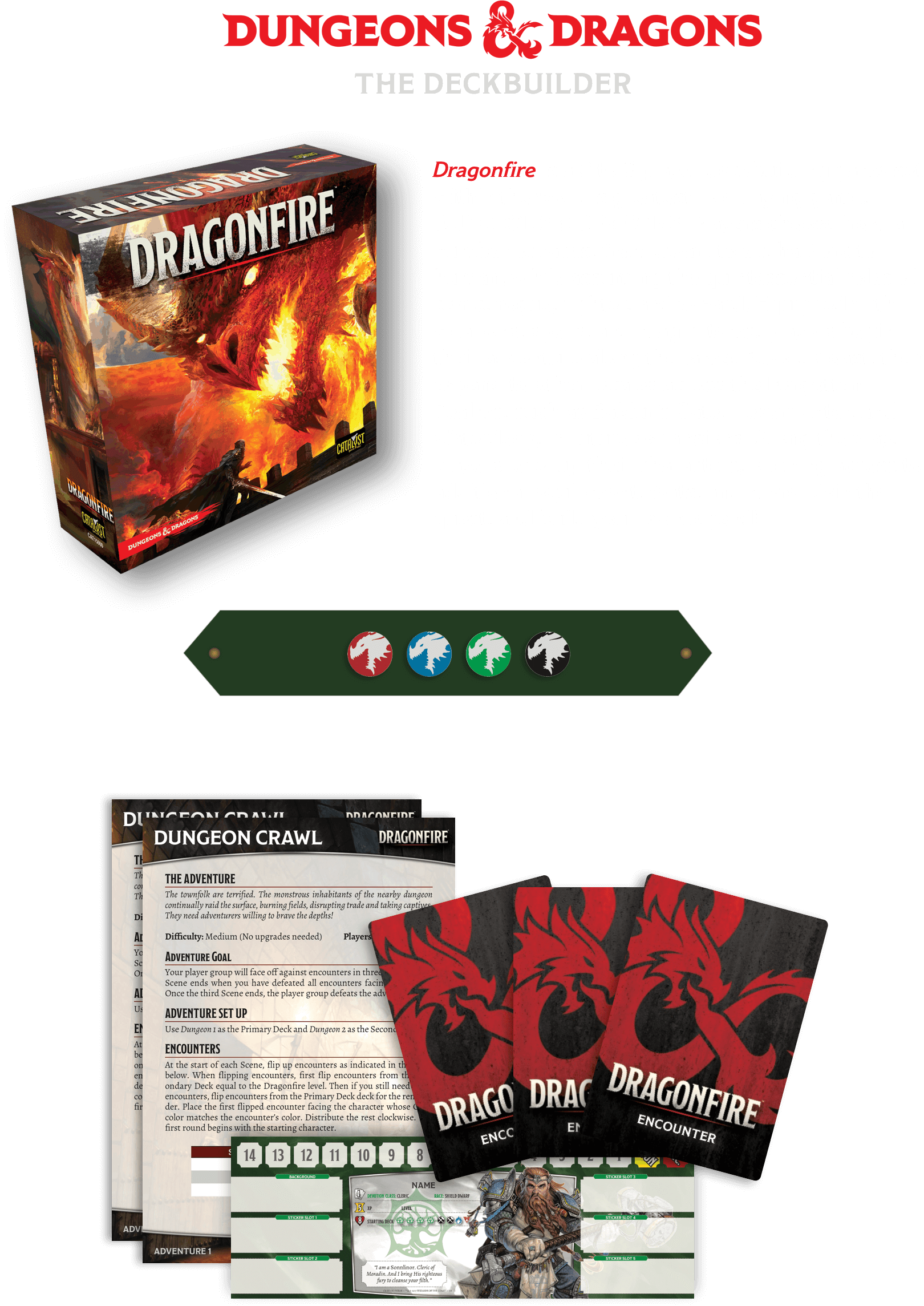 Dragonfire Deck Building Game