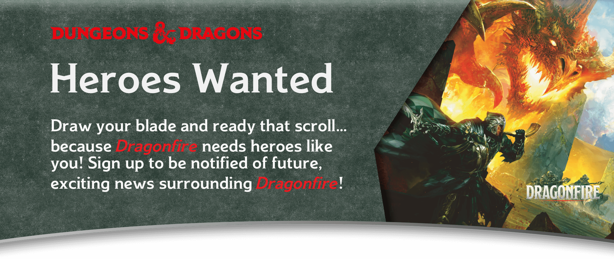 Dragonfire Sign-Up