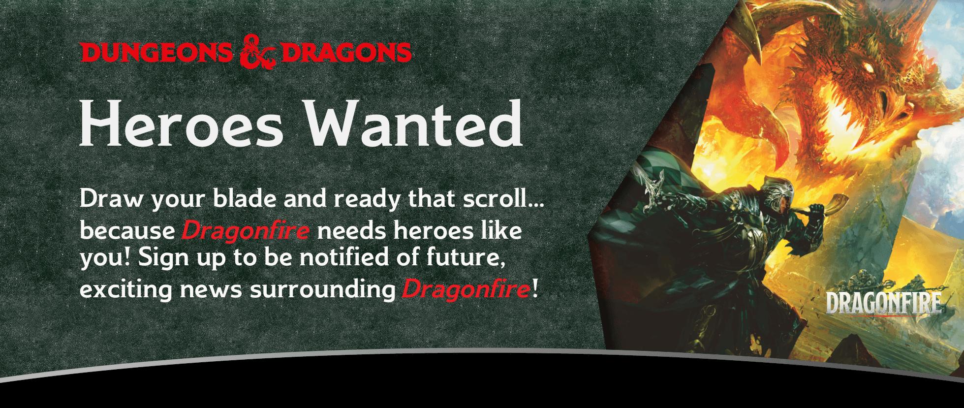 Dragonfire Sign-Up
