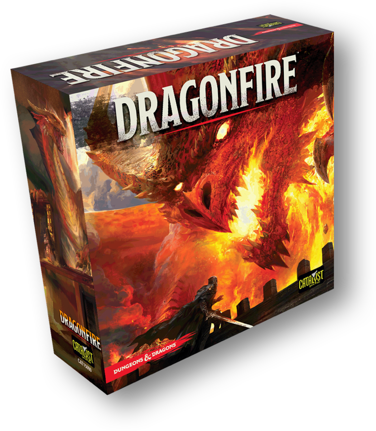 DUNGEONS & DRAGONS Dragonfire game box