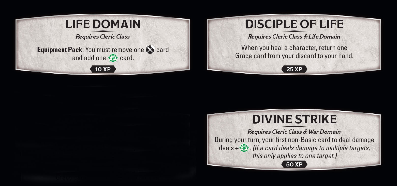 From Acolyte to Turn Undead to Life Domain: Features