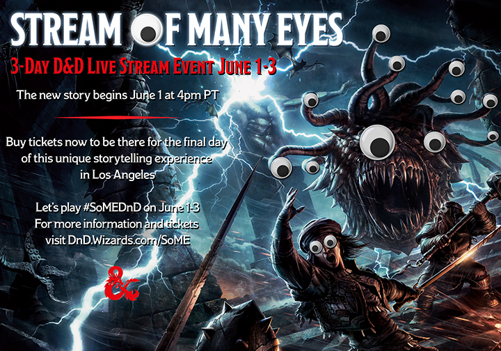 D D Announces Stream of Many Eyes!  307aaafd213d